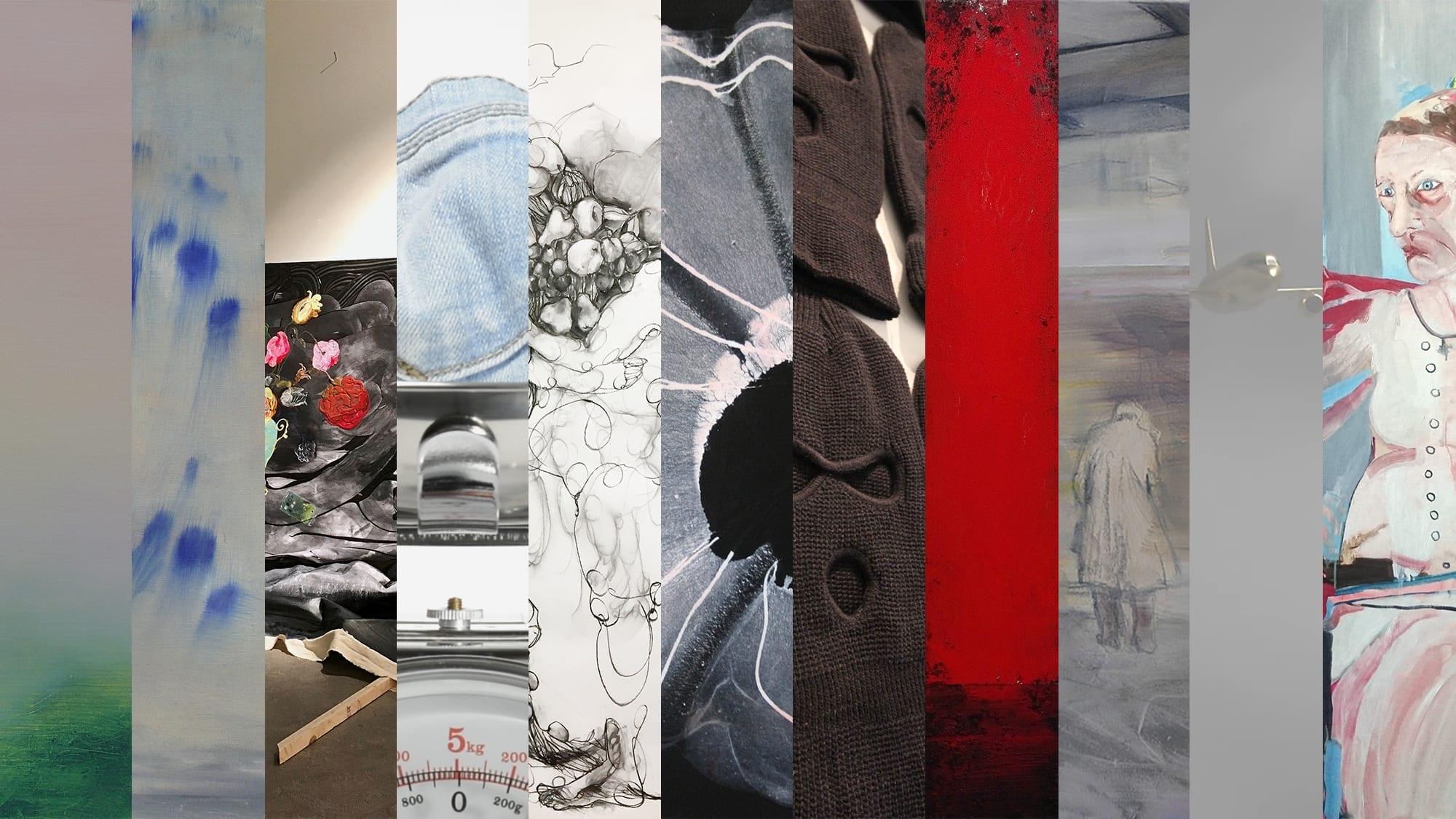 Logomon taiteilijat esittäytyvät yhteisnäyttelyssä Logomon Teatrossa. 18.6.-19.8. – ilmainen sisäänpääsy