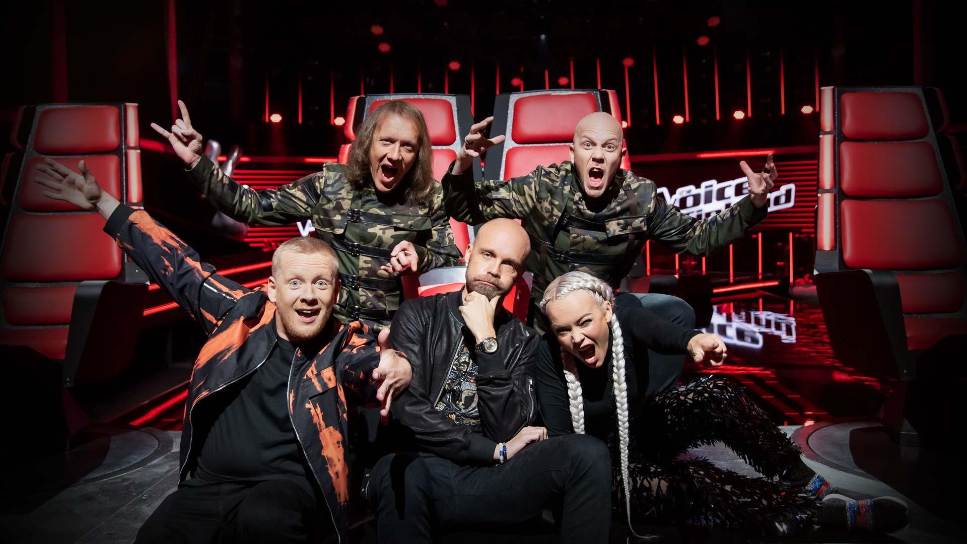 The Voice of Finland -livelähetykset Logomossa