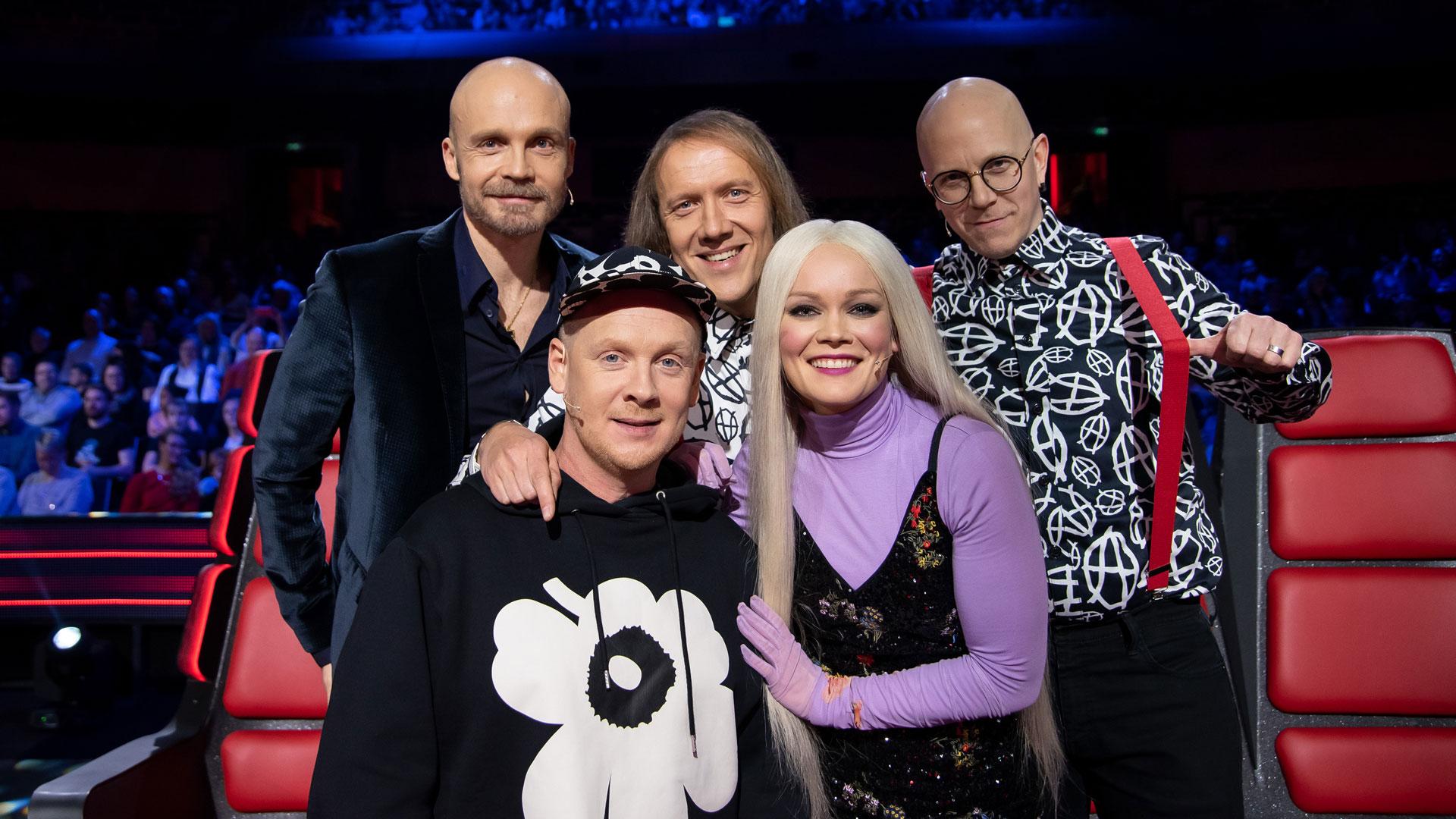 The Voice of Finlandin livelähetykset siirtyvät syksyyn
