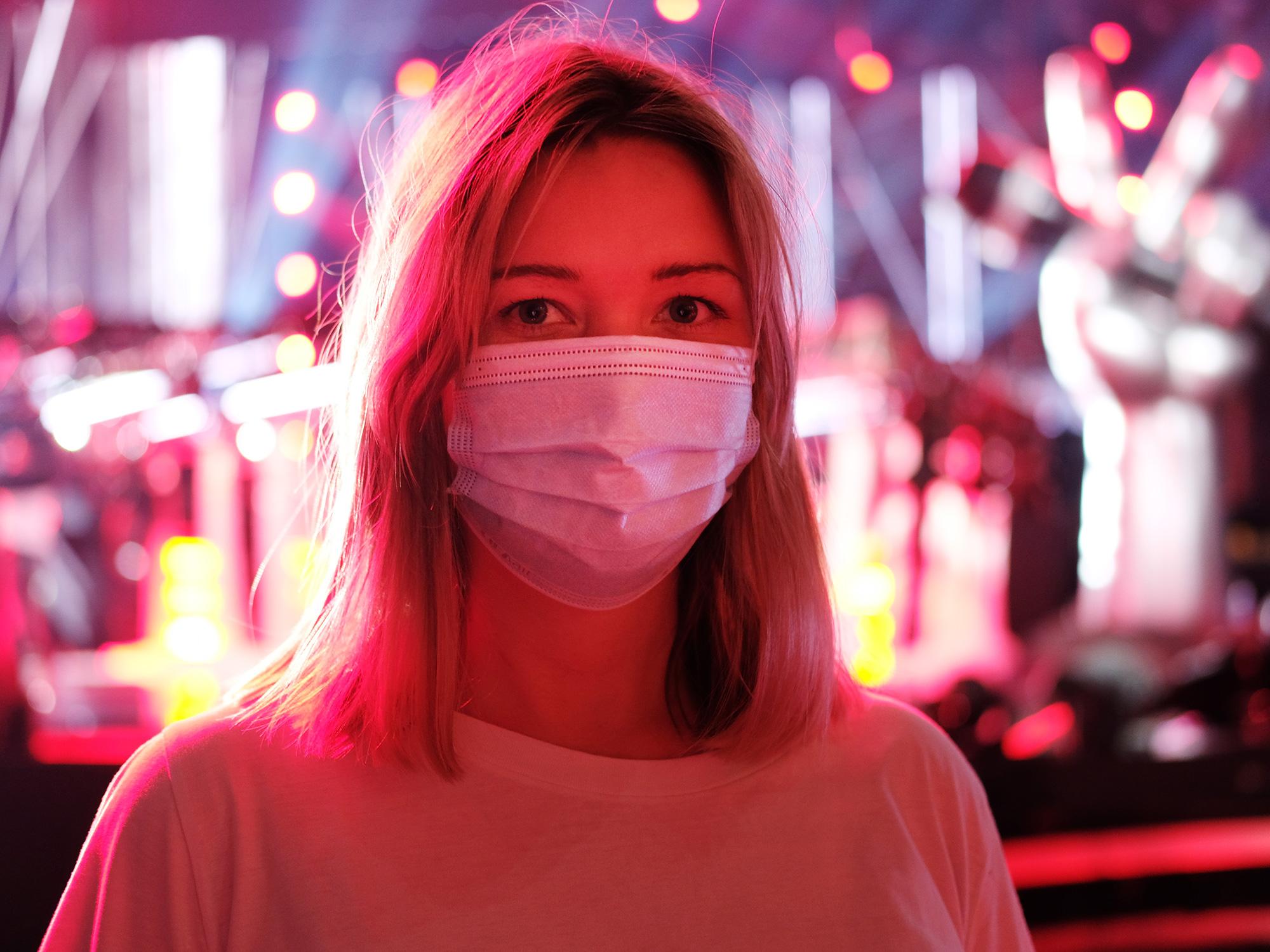 LIFAair tarjoaa kotimaiset maskit The Voice of Finlandin live-yleisölle ja työntekijöille