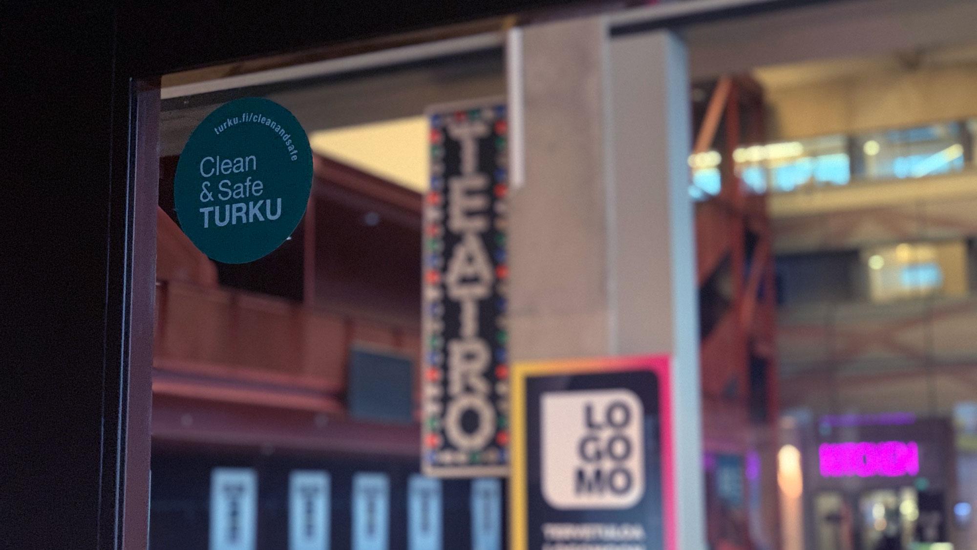 Logomo sai Clean & Safe Turku -tunnuksen